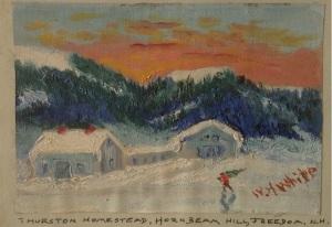John Thurston Homestead Painting